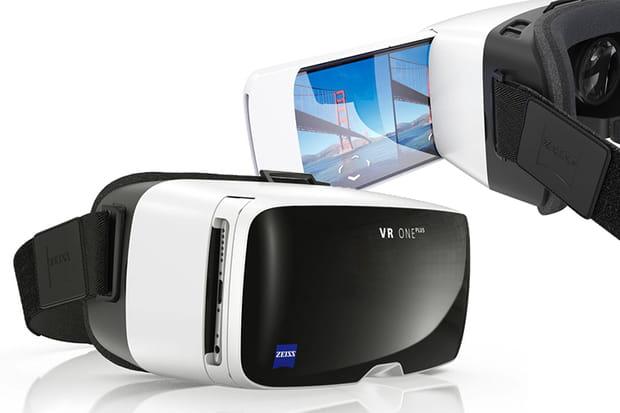 Un masque de réalité virtuelle Zeiss VR One Plus