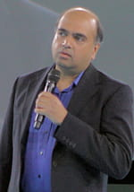 Vijay Chakravarthy CEO et GM Analytics Cloud T