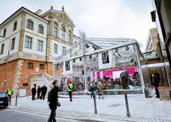le musée chopin à varsovie a réouvert ses portes en 2010 entièrement rénové et