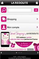 la version mobile du site de la redoute.