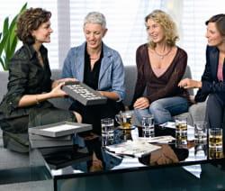les bijoux pierre lang s'achètent lors des réunions.