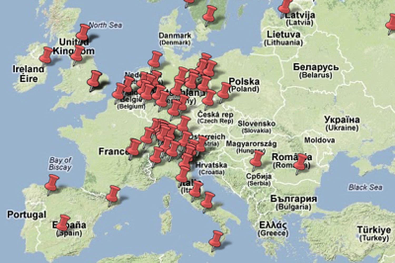 Energie solaire: la carte des faillites