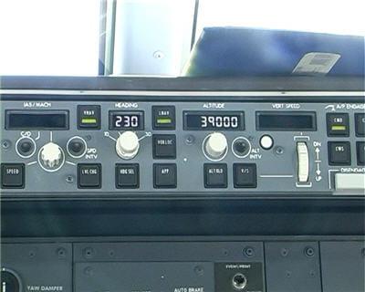 commandes du pilote auto