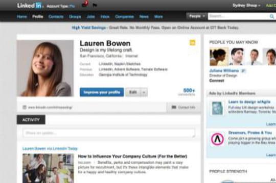 LinkedIn lève le voile sur ses nouveaux profils