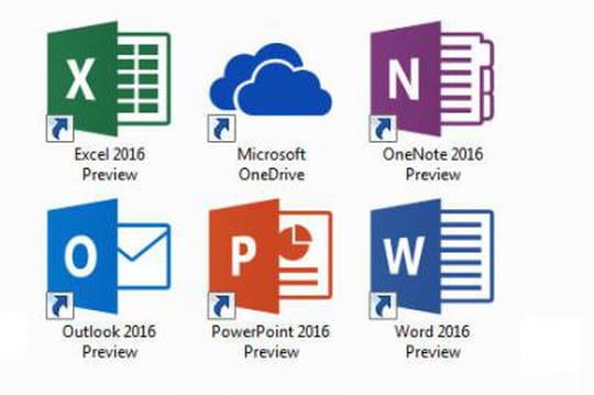 Office 2016 : les nouveautés en images