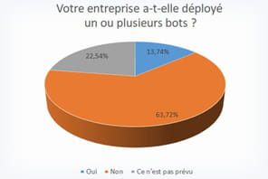 Bot: les DSI des moyennes et grandes entreprises françaises se lancent