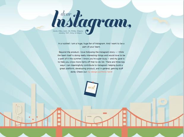 CV Instagram