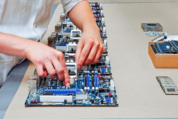 Des processeurs Intel au cœur des serveurs