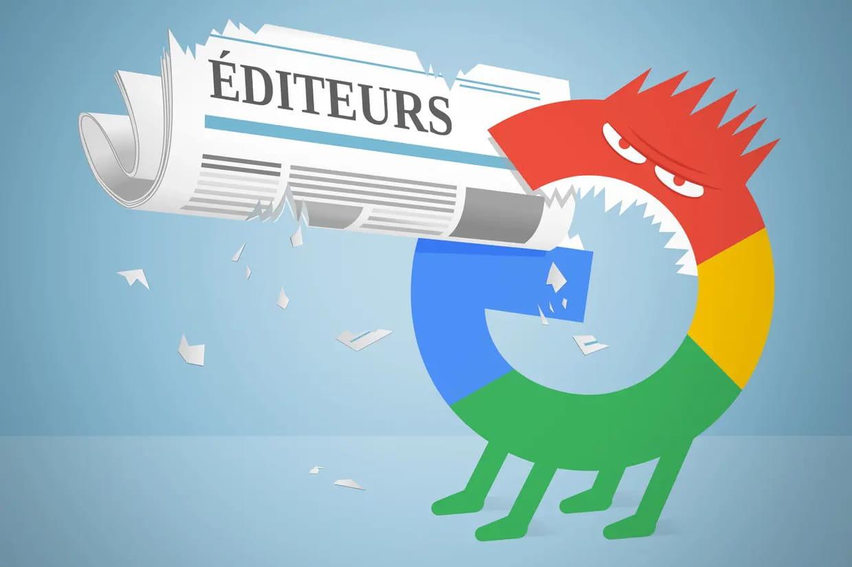 Droit voisin pour la presse : les éditeurs français plient devant Google