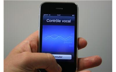 reconnaissance vocale uniquement disponible sur l'iphone 3g s