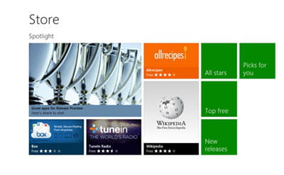 product win8 store page