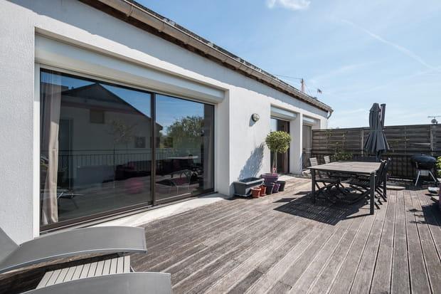 Loft terrasse en région parisienne...