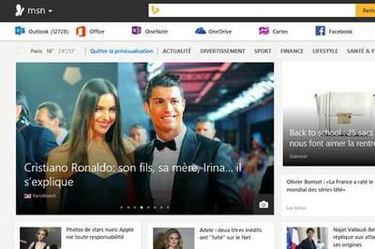 Le nouveau MSN arrive en ligne avec davantage de personnalisation et de mobilité