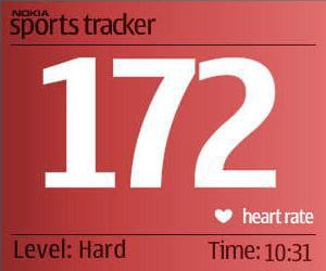 nokia sports tracker contrôle l'activité physique de l'utilisateur