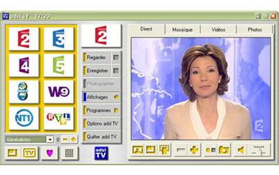 la télévision sur l'ordinateur