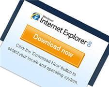 internet explorer 8, en mars 2009
