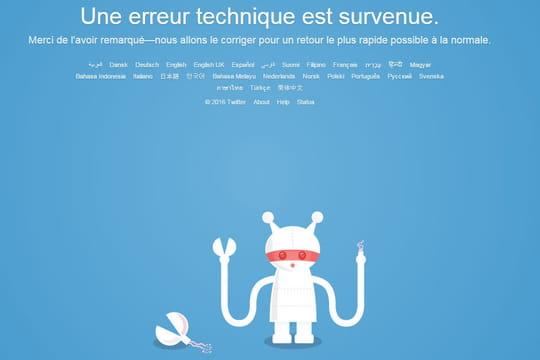 Twitter connaît une panne mondiale de 2 heures