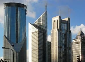 la récession n'a pas entamé la croissance économique de la ville.