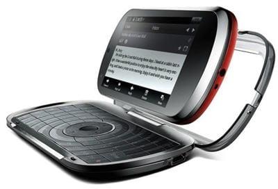 lephone : on peut séparer l'écran tactile du clavier selon les usages