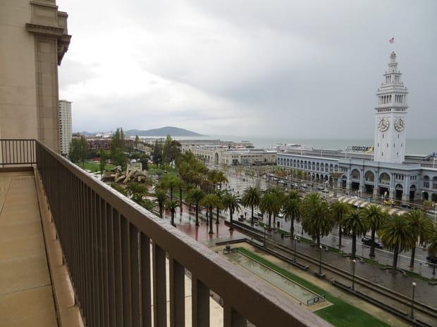 Une vue de la baie de San Francisco