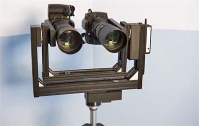 deux appareils photos motorisés ont été utilisés