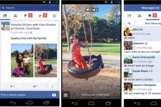 Facebook lance Lite, application allégée pour les pays émergents