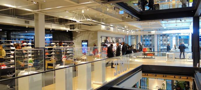 Nike Soho, cinq étages de commerce immersif