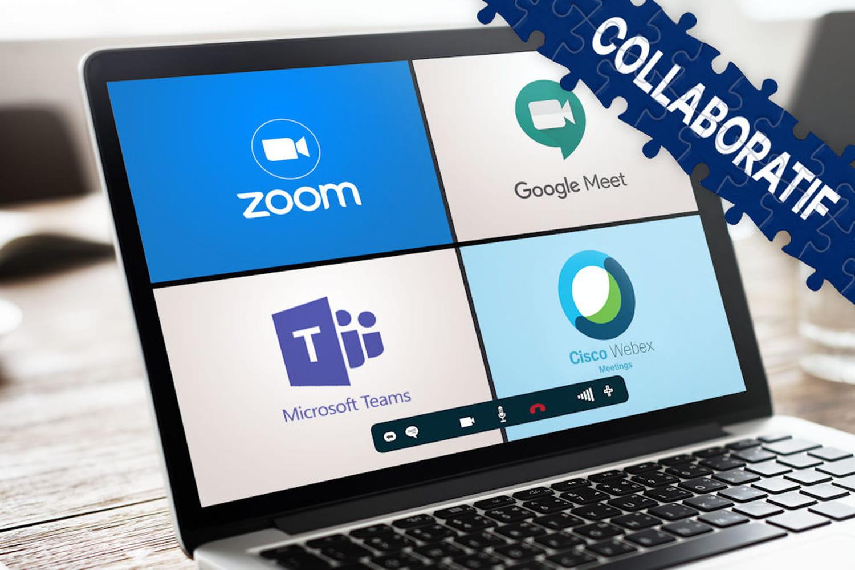 Comparatif visioconférence: Teams et Zoom font la course en tête