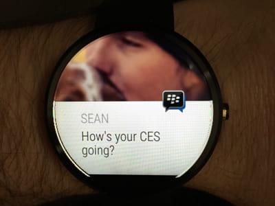 bbm arrive sur les montres connectées.