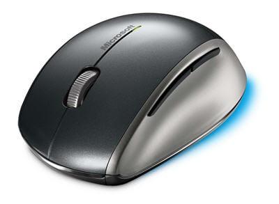 vue de profil de la explorer mouse