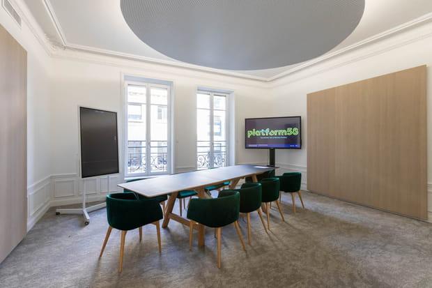 Une location d'espaces de travail pour financer une partie du projet