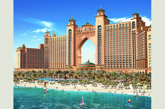 Atlantis The Palm Dubaï : un hôtel paradisiaque