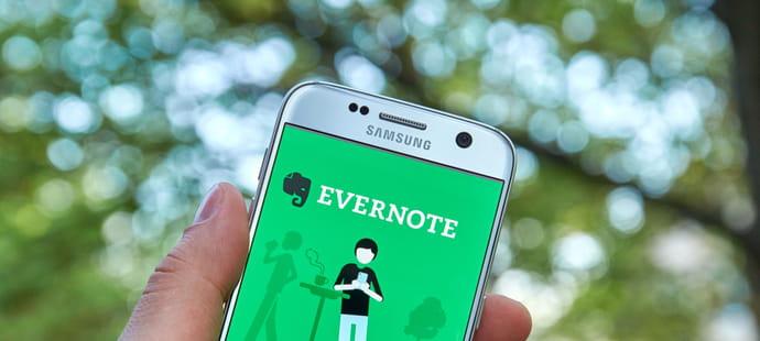Evernote bascule le back end desonapp mobile chez Google
