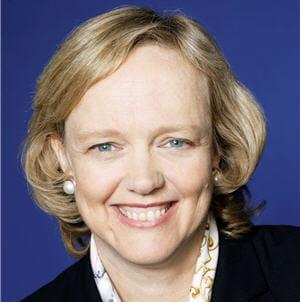 meg whitman est arrivée à la tête d'hp fin septembre 2011.
