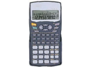 le prix d'une calculatrice scientifique diminue de 6,3% en moyenne sur internet