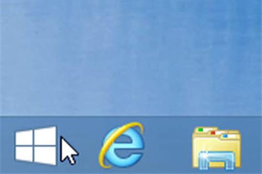 Bouton Démarrer de Windows 8.1