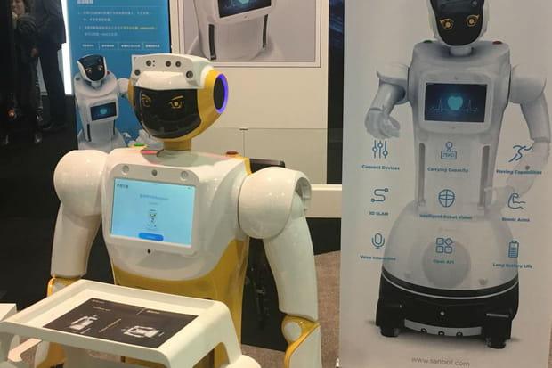 Sanbot: le robot qui peut tout faire