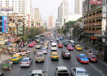 une rue de bangkok