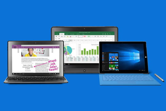 Windows 10 poursuit sa lente progression