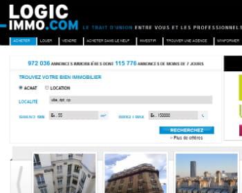 logic-immo conserve sa quatrième position avec 1,6 millions de visiteurs uniques