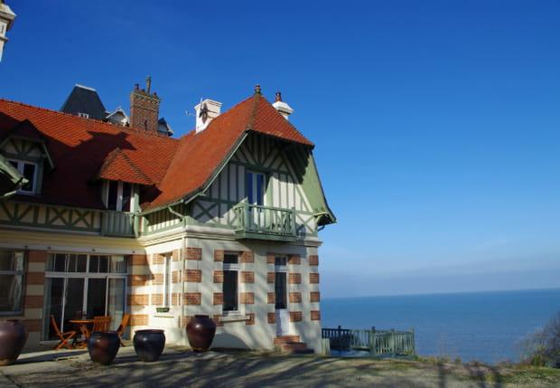 Une villa de caractère à Deauville