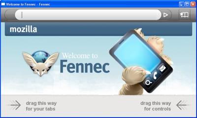 une version de mozilla fennec est en préparation pour windows mobile.