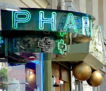 une pharmacie lilloise.