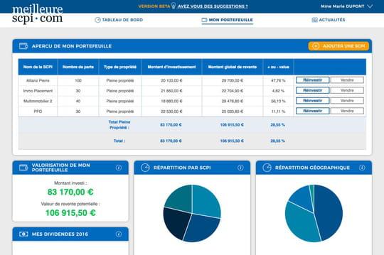 MeilleureSCPI.com lance un agrégateur d'investissements en SCPI