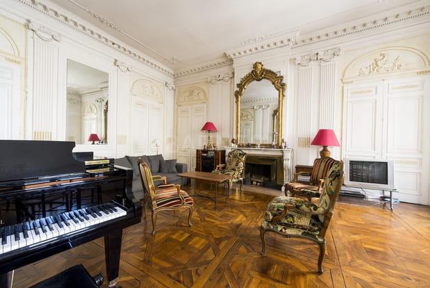 Un bien où le parquet Versailles est roi
