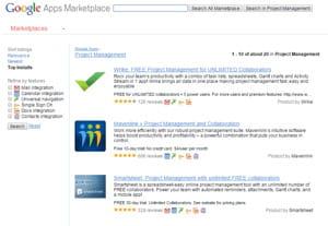 portail de la place de marché cloud de google.