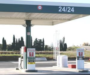 le prix du gazole dans les stations casino a baissé de 3,95% en 2009.