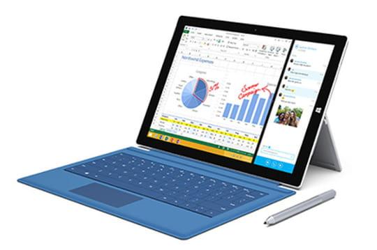 La Surface Pro 3 a rapporté plus de 900millions de dollars à Microsoft