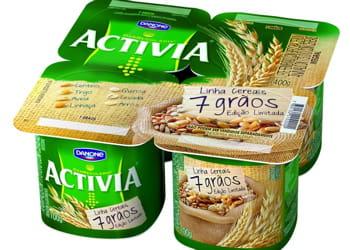 les consommateurs achètent en moyenne 6,2 fois des yaourts activia par an.
