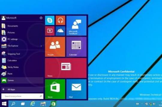 """Windows 10 : première fuite de la """"Consumer Preview"""" ?"""